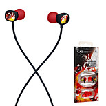 Crimson Rock Ultimate Ears 100 Noise-Isolating Earphones 3.5mm In Ear Stereo Music for iPhone 6/iPhone 6 Plus