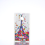 Balloon Tower Pattern TPU+IMD Soft Case for Nokia Lumia N640/N535/N435