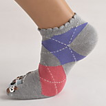 5 Pairs Women's Cotton Socks Casual Socks High Quality for Running/Yoga/Fitness/Football/Golf