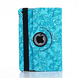 360 Degree Grape Grain PU Leather Flip Cover Case for iPad Mini 1/2/3(Assorted Colors)