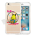 Fairy Tale Soft Transparent Silicone Back Case for iPhone 6/6S (Assorted Colors)