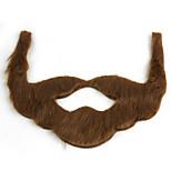 Holiday Role Play Interesting Plush Beard Brown Gray Black