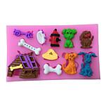Dog Style Sugar Candy Fondant Cake Molds  For The Kitchen Baking Molds