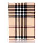 9,7-Zoll-Streifenmuster PU-Lederetui mit Plug-in-Karte mit Ständer für iPad Pro 9.7 (verschiedene Farben)