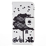 Bicycle Lover PU leather with Stand Case for Iphone6/6S 4.7