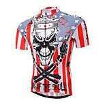 XINTOWN Mountain Bike Skull Sportwear Pro Team Cycling Jerseys Short Sleeve Bicycle Jersey