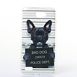 Dog Pattern TPU+IMD Soft Case for LG L Bello 2