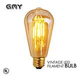 1 pieza GMY E26/E27 3W 4 COB ≥330 lm Blanco Cálido ST64 edison Cosecha Bombillas de Filamento LED AC 100-240 V