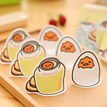 1PC Creative Cute Cartoon N Post-It Notes Paper Stationery Eggshell Note Book Post-It Notes