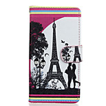 Love Pattern PU Leather Full Body Case with Stand for Wiko Rainbow Jam 4G