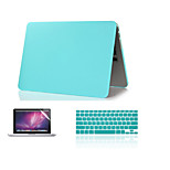 New Fashion Matte  Hard Case +Keyboard Cover+ Screen Protector for Macbook Air 11