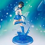 Sailor Moon Sailor Mercury 19CM Figuras de Ação Anime modelo Brinquedos boneca Toy