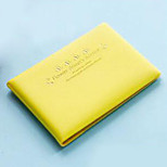 Fashion Portable Plastic Passport Holder & ID Holder/Travel Storage for Travel 11*8*2cm