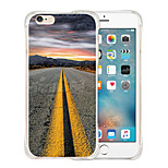 Leading To The Sky Soft Transparent Silicone Back Case for iPhone 6/6S (Assorted Colors)