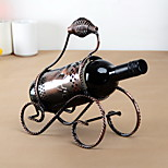 Portable Vintage Pure Iron Wine Rack