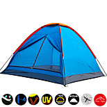 Top Brand Quality Single Layer 3-4 Person Rainproof Ourdoor Camping Tent for Hiking Fishing Hunting Picnic Party