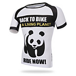 XINTOWN Men Sports Cycling Jersey Bike Breathable T-shirt Panda