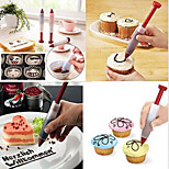 Chocolate Fondant Cake Cookie Decorating Icing Piping Nozzles Tip Writing Pen