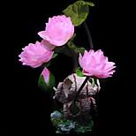 decorazione loto ornamento resina di simulazione per l'acquario