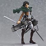 Attack on Titan Outros 15CM Figuras de Ação Anime modelo Brinquedos boneca Toy