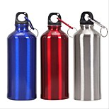 750ML Outdoor Sports Water Bottle Aluminum Oval travel sports kettle Drinking Bottles for Bicycle Climbing Travel