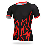 XINTOWN Men Sports Cycling Jersey Bike Breathable T-shirt