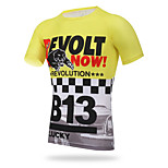 XINTOWN Cycling Running Men Tight Quick-Dry Clothes Short Sleeve T-shirts