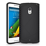 DEJI® Slim Armor Dual Layer Bumper Cover TPU PC hybrid Protective Case for Motorola Moto X Play (Assorted Colors)