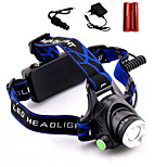 LS1791 2000Lm 3 Mode CREE XM-L XML T6 LED Waterproof Head Light Lamp Zooming Headlamp Headlight