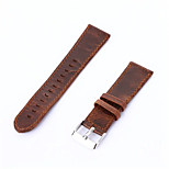 Coffee Brown Vintage Genuine Leather Watch Band Retro Replacement Strap For Samsung Gear S2 Classic