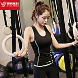 Women's Clothing Sets/Suits Sport Breathable / Sweat-wicking / Soft Black S / M / L Yoga / Pilates / Fitness / Running