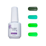 ILuve Gel Nail Polish Set - Pack Of 4 - Long Lasting 3 Weeks Soak Off UV Led Gel Varnish – For Nail Art #4045