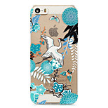 Chinese Landscape Painting Painted Pattern Hard Plastic Back Cove For iPhone5S/iPhoneSE 4.0