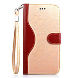 PU Leather Soft Half Body Case with Stand Cover for iPhone 6/6s (Assorted Color)