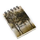 1PC Lonely Season Creative Stationery Pad Small Notepad Customization Notebook(Style random)