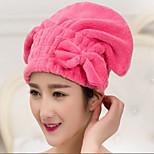 Microfiber Bowknot Hair-drying Cap/Towel Wrap Turban Hat Quick Dry Bath Tool New