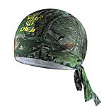 Cheji Wild Green Bike Bicycle sportwear Cycling Headband Cap Pirate Hat Bandana Scarf