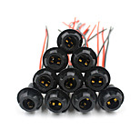 10x T10 Auto Light Bulb Socket Connector Extension Lamp Holder