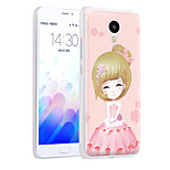 XIMALONG  Confident girl   phone shell painted reliefs apply for MEI ZU M3 NOTE