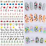 1pcs Fresh Nail Watermark Sticker 56-61