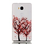 Luminous Night Red Flower Tree TPU Soft Case for Huawei Honor 5X