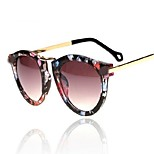 Women's Vintage Stype Full-Rim FLower Flyer Avitor Sunglasses UV400
