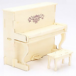European Piano Wood 3D Puzzles Diy Toys
