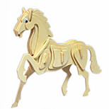 The Horse Wood 3D Puzzles Diy Toys