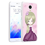 XIMALONG  Energy Girl  phone shell painted reliefs apply for MEI ZU M3 NOTE