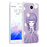 XIMALONG Independent girl phone shell painted reliefs apply for MEI ZU M3 NOTE