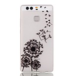 Dream Of Dandelion Luminous Dream Catcher Pattern Sofe TPU Case for Huawei P9