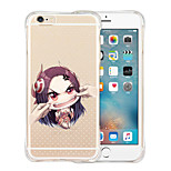 I Am Not Your Doll Soft Transparent Silicone Back Case for iPhone 5/5S(Assorted Colors)