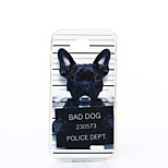 Dog Pattern TPU+IMD Soft Case for LG L90/H422/H502