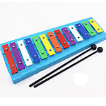 Knock On The Piano Wood Colourful Music Toy For Kids